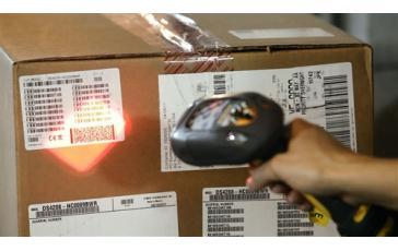 Защищенный беспроводной  сканер штрихкодов Symbol (Motorola) DS3578