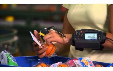 Сканер  штрихкодов на палец Symbol (Motorola) RS507