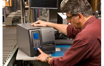 Печать штрихкодов Intermec PX4i
